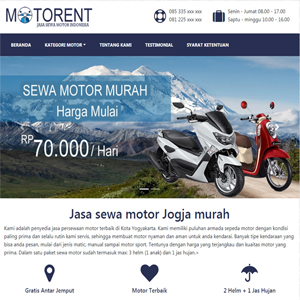 Motorent wordpress themes