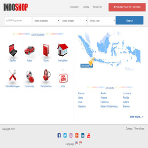 Indoshop osclass themes